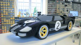 Le Mans-ban egy LEGO-kockákból épített Ford GT versenyautót is kiállítanak