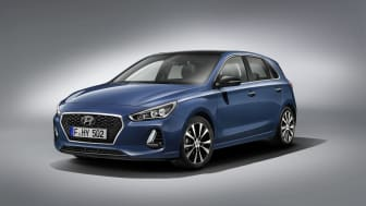 Hyundais nye i30 med cascade-grill
