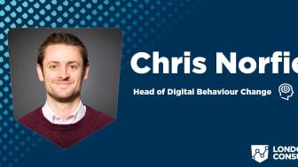 Chris runs London Sport Consultancy's digital behaviour change work