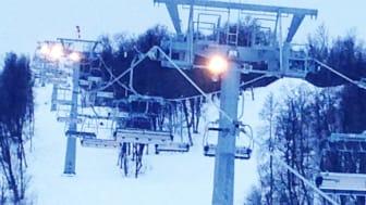 Tomten når fjälltoppen på 4 minuter – invigning av Fjällgårdsbanan 10.30 Ramundbergets nya snabbgående stolslift