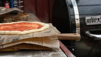 Gladkokkens italienske pizza på Smokefire
