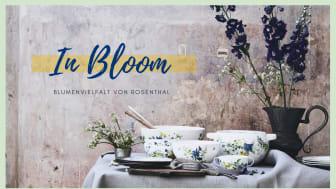 """Den floralen Dekor """"Fleurs des Alpes"""" hat die schweizerische Designerin Regula Stüdli mit viel Liebe zum Detail entworfen."""