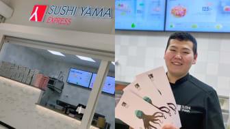 Sushi Yama Express i ICA Maxi Erikslund, Västerås.