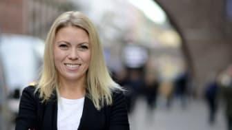 Karin Bäcklund, pr-konsult och kommunikationsstrateg på byrån Not just Cake