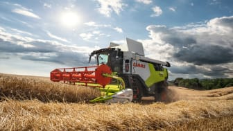 """Kampanjen """"Fits your farm"""" innebär lanseringen i Europa av 20 nya skördetröskar i trion-modellserien. Nyckelinformationen om den nya modellserien finns på den dedikerade målsidan: trion.claas.com"""