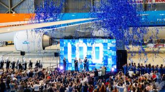 KLM 100 event 29 jul with Orange Pride