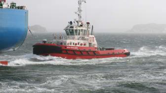 Boa Tugs in Port of Gothenburg