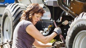 Andelen sysselsatta kvinnor inom jordbruk har ökat till 43 procent 2020, jämfört med 35 procent 2005.Foto: Thomas Adolfsén.