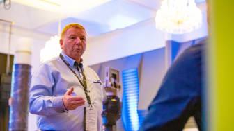 Ole Petter Sørensen fra Trainor lot seg engasjere av flere innlegg på fagsamlingen, og holdt også eget innlegg om utfordringer med ny teknologi. Foto: Trainor AS