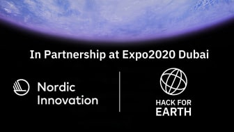 Nordic Innovation in partnership with Hack for Earth at Expo2020 Dubai