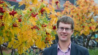 Fredrik Granberg, projektledare energiteknik vid Luleå tekniska universitet