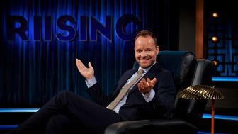 Jakob Riising får sit helt eget talkshow, som kan ses på Kanal 5 i løbet af efteråret. Fotograf: Krestine Havemann.
