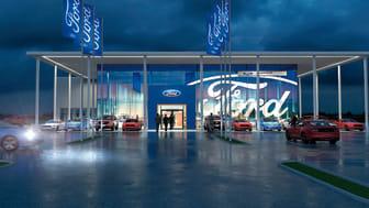 FordStore Haninge invigs den 5–7 april med öppet hus.