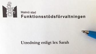 Lex Sarah-anmälan om allvarlig händelse på LSS-boende