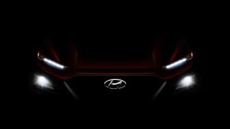 Hyundais nye B-SUV; KONA