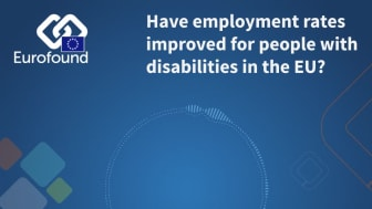 Have employment rates improved for people with disabilities in the EU?