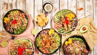 Till våren bjuds det på härliga tropiska och polynesiska smaker med Hawaiian street food i Umami Park. Då öppnar den expansiva restaurangkedjan Oh Poké på Fredens Torg.