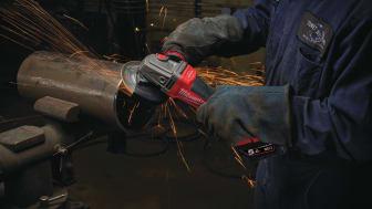 Milwaukee M18 FUEL™ on ensimmäinen johdoton ja jarrulla varustettu kulmahiomakone