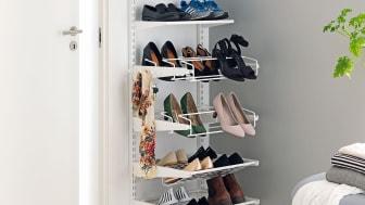 Få snabbt ordning på skorna i hallen