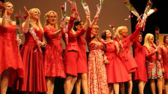 Woman in Red i Karlskrona 6 mars