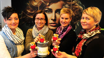 Salon Harmonie zeigt Herz für das Kinderhospiz