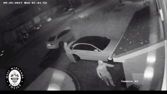 The Relay Attack Captured on CCTV - West Midlands Police
