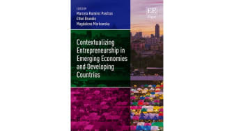 Ny bok om entreprenörskap i tillväxtländer