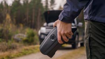 Att bli strandad på en parkeringsplats eller vägren med ett urladdat batteri, är något många av oss fasar. Med CS Free laddar du batteriet snabbt och lätt, var du än befinner dig.