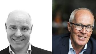 Magnus Almquist (t.v.) och Christer Wikström (t.h.) nya affärsutvecklare i Airport City Stockholm