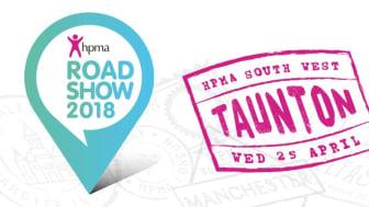 Finegreen exhibiting at the HPMA Roadshow - Taunton