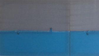 'Europe Seen From Tripoli', polyestertelt opspændt på trærammer af Jonas Sangberg