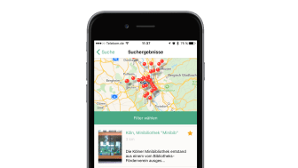 Der Holzbau-Finder weist dem Nutzer den Weg zu aktuell rund 2.000 Holzbauobjekten in Deutschland und dem angrenzenden Ausland.