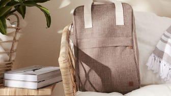 Kylryggsäcken är smidig att bära och kyler länge.