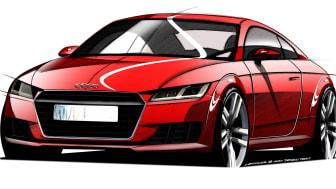 Audi visar nya Audi TT i Geneve