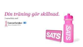 SATS deltar i Rosa Bandet-kampanjen 2015