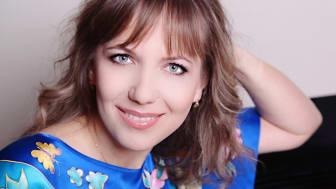 Natalya Pasichnyk, internationellt verksam konsertpianist och Anders Wall-stipendiat