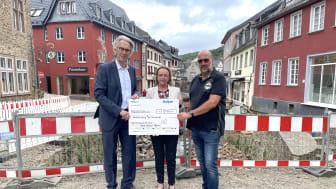 Oliver Brüß, Sabine Preiser-Marian und Reiner Huthmacher (von links)