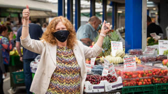 Cllr Jane Black on Bury Market.