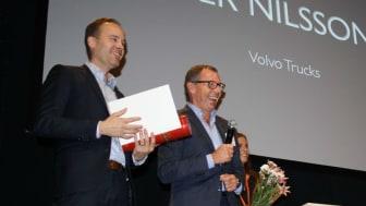 Per Nilsson, Volvo Trucks, blev Årets Marknadsförare
