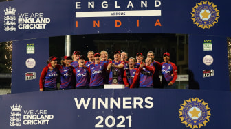 England Women won the multi-format series 10-6. Photo: Getty Images