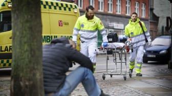 Region H forlænger ambulanceaftale med Falck