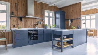 Køkken fra det HAV-blå rige
