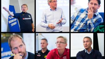 Tränare i Mariestads BoIS FF, Horreds IF och St Mellby SK får Woody Ungdomsledarstipendiet 2012
