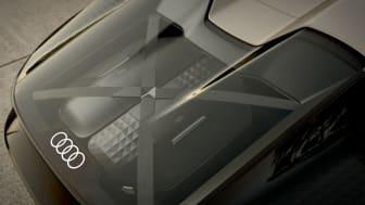 Audi skysphere med plads til to specialdesignede weekendtasker under glasset