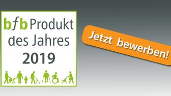 bfb Produkt des Jahres 2019 - Beliebteste barrierefreie Produkte gesucht