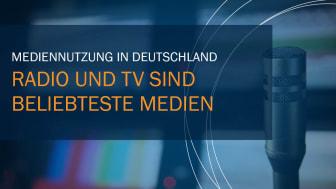 Mediennutzung in Deutschland I Radio und TV