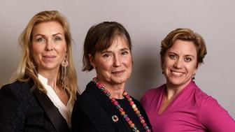 Jessica Löfström, Monica Lindstedt, Maria Matsson Mähl från Nätverket 17.