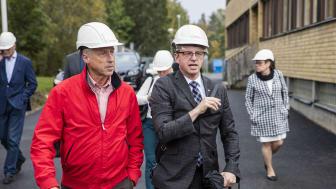 "Näringsministern bjöds på ""grönt kol"" hos BioEndev"