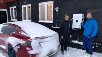 Hotell Kittelfjäll vill uppmuntra till hållbart resande genom installation av EVlink elbilsladdare från Schneider Electric