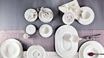 Rosenthal - Brillance Design: White, Ligne d'Argent and Fleurs Sauvages